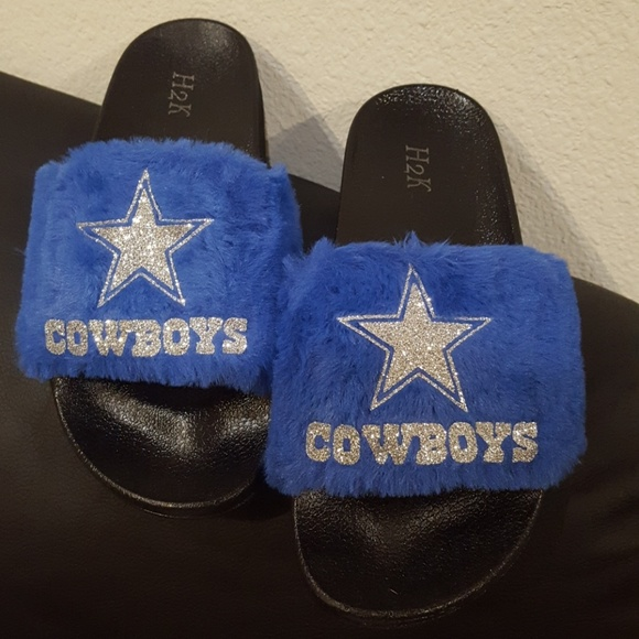 Shoes   Dallas Cowboys Slippers   Poshmark